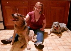 Bleu, Sheryl and Kenna, October 2012